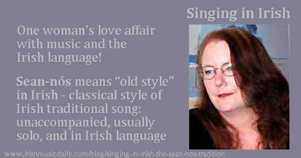 Singing in Irish