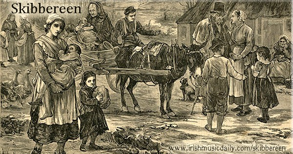 Skibbereen Irish Famine Eviction Image Ireland Calling