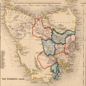 Van Diemen's Land (Tasmania)1852