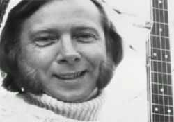 Tommy Makem - solo artist and member of Irish traditional folk group The Clancy and Tommy Makem