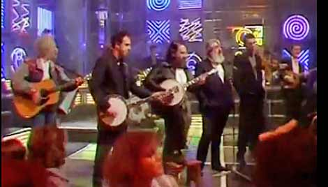 The Pogues and The Dubliners performing together