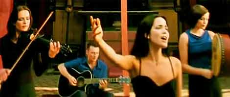 The Corrs - traditional Irish folk band with a twist of modern pop and rock