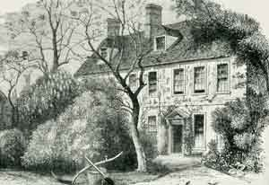 Olney  vicarage where John Newton where wrote Amazing Grace
