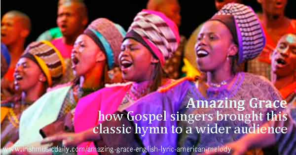 Amazing Grace written by an American composer and English lyricist ...