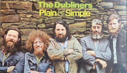 The Dubliners from the Plain and Simple album