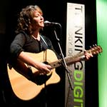 Oonagh Cassidy, Irish singer/songwriter performing in the Sage concert hall Gateshead Newcastle