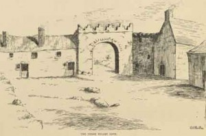 The Three Bullet Gate, New Ross (19th century)