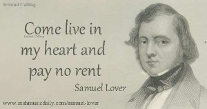 Samuel_lover-Come-live-in-my-heart-Image copyright Ireland calling