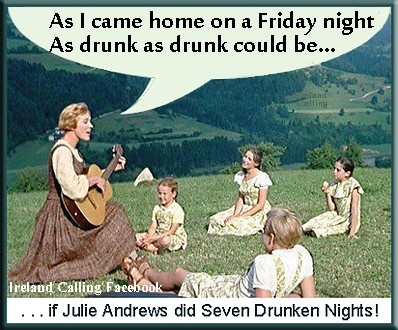 Julie Andrews in a Sound of Music.