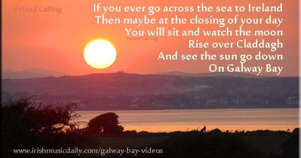 Galway-Bay_Sunset Image copyright Ireland Calling