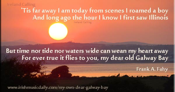 Galway_Bay-Frank-Fahy-Sunset Image copyright Ireland Calling