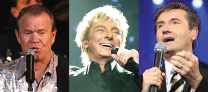 Glen Campbell (photo Lawrie M), Barry Manilow (photo Matt Becker), Daniel O'Donnell (photo Ireland Hall) have all recorded When You Were Sweet Sixteen
