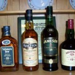 Famous Irish Whiskeys (photo by Cafeirlandais)