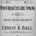 Irish Eyes sheet music 1912