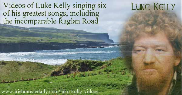 Luke Kelly. Image Copyright - Ireland Calling