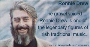 Ronnie-Drew - frontman of the Dubliners