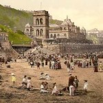 Scarborough, the children's corner, Yorkshire