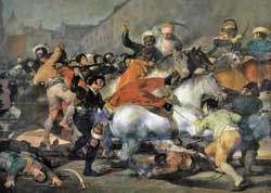 Second of May 1808 Part of Napoleonic Wars Fanscisco Goya 1814