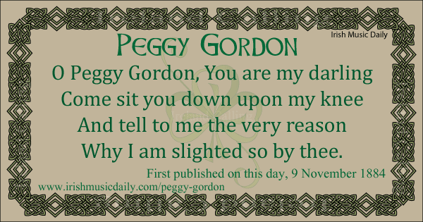 Peggy Gordon, lament of a slighted lover