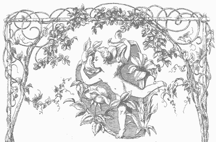 Illustration for We May Roam Through This World from Moore's Irish Melodies