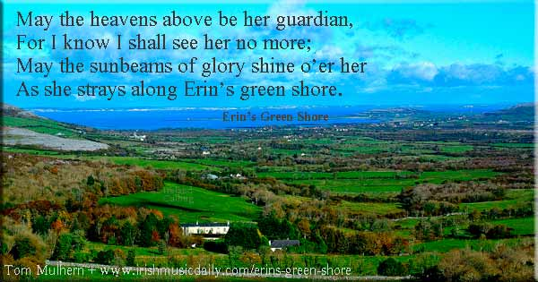 Erin's Green Shore _ photo Tom-Mulhern_on-road-fromCliffs-of-Moher-to-Galway-Bay