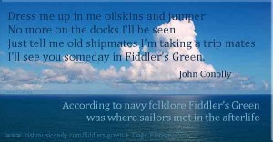 Fiddler's Green, where sailors met in the afterlife