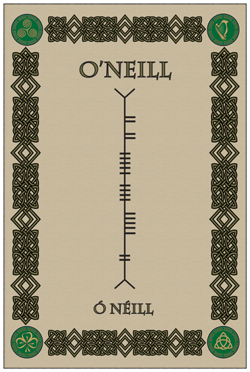 O'Neill on Ogham