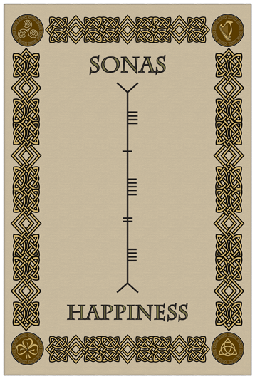 Ogham happiness