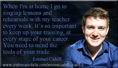 Emmet Cahill - Image Copyright - Irish Music Daily