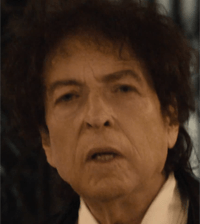 Bob Dylan in Chrysler advert, first shown during the SuperBowl
