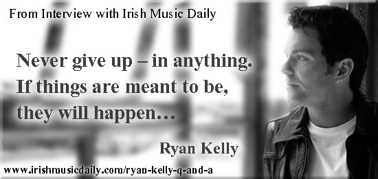 Ryan Kelly. Image Copyright - Irish Music Daily