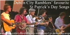 Dublin City Ramblers' top 5 St Patrick's Day songs