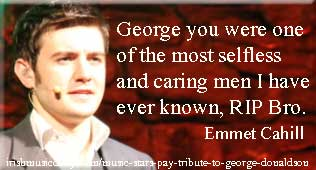 Emmet_Cahill tribute to George Donaldson