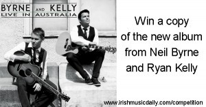 Win a copy of Byrne and Kelly Live in Australia