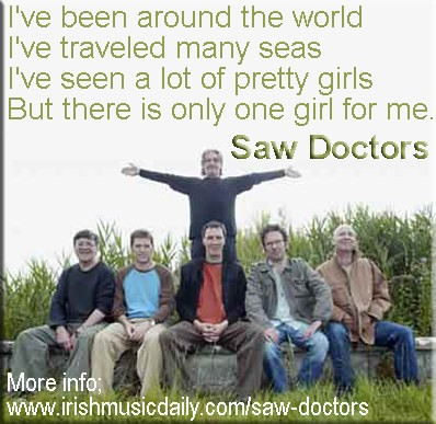 7_11_SawDoctors_Only one girl for me