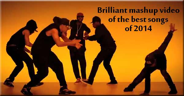 Brilliant mashup video of catchiest songs of 2014