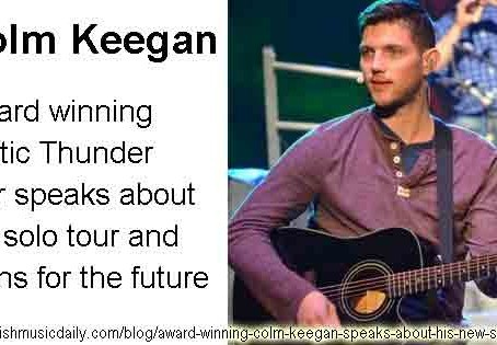 Colm Keegan speaks about his solo tour and future plans