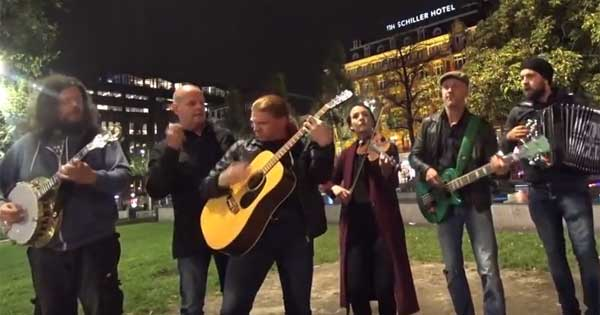 Dutch folk band put Irish twist on rock classic
