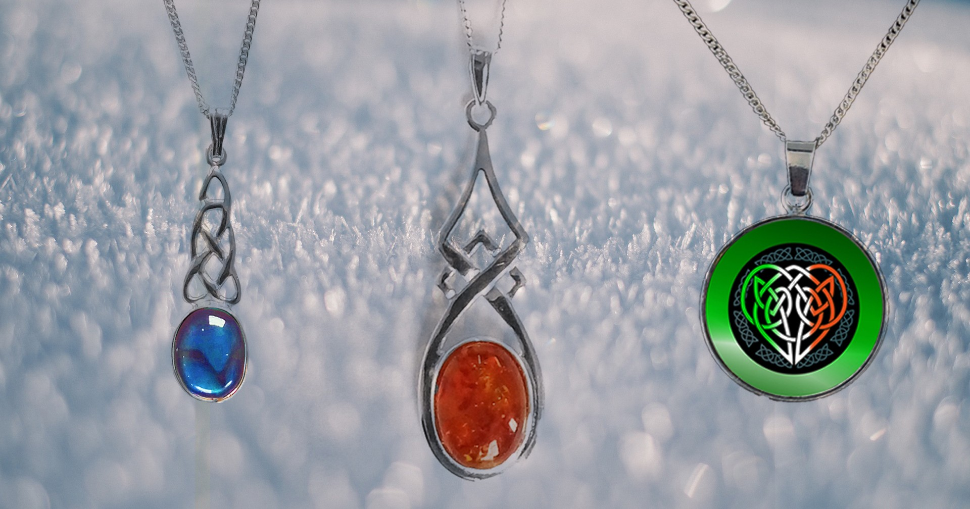 Pendants from Bealtaine Fire