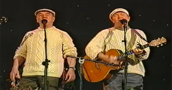 The Clancy Brothers performed the Irish song As I Roved Out