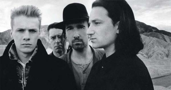 U2's The Joshua Tree is named the best album of the 1980s